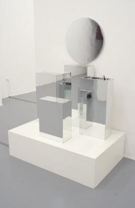 Galleria Fonti Delia Golzalez and Gavin Russom