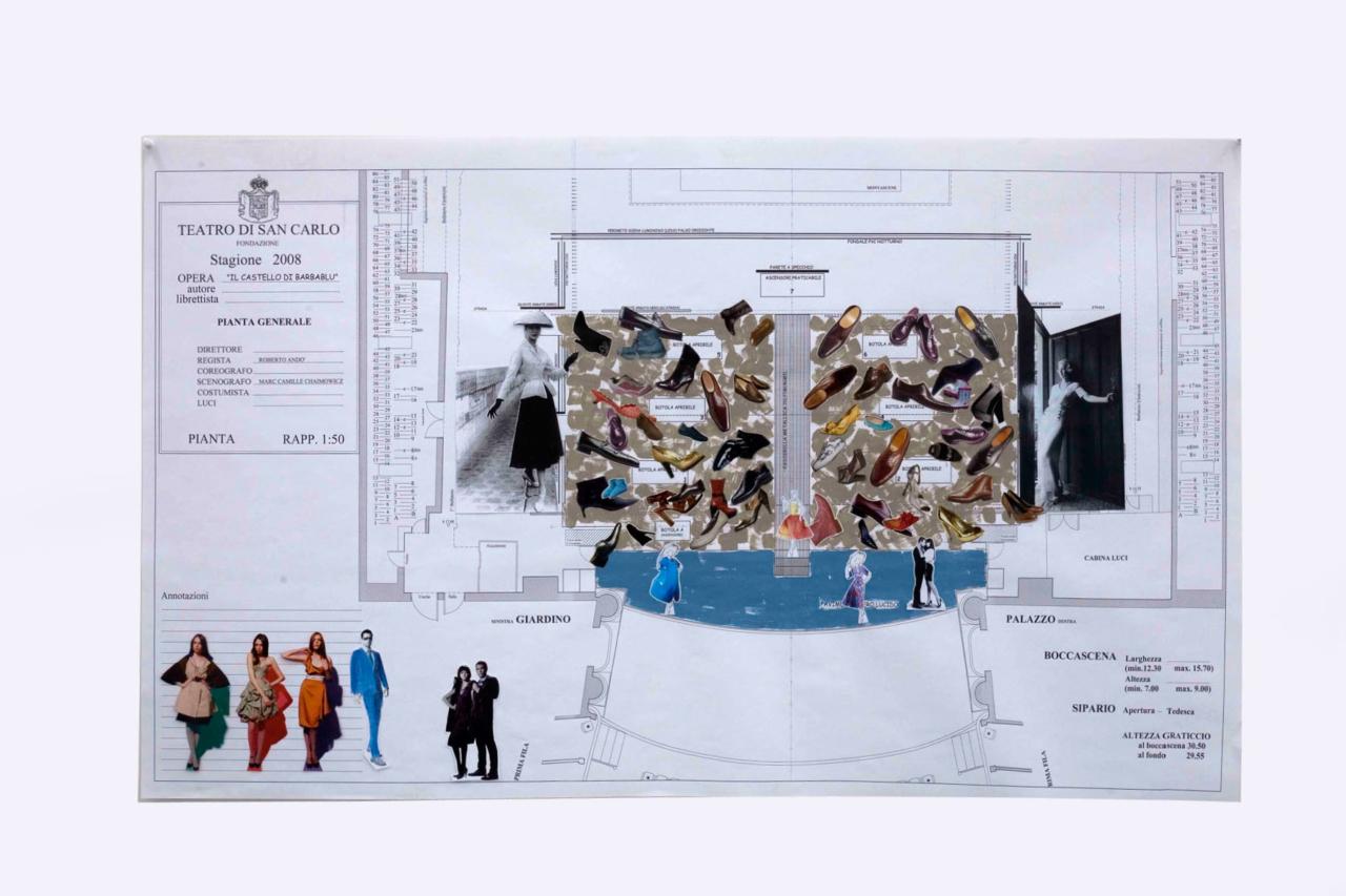 Galleria Fonti MARC CAMILLE CHAIMOWICZ – … opera designs per il teatro di S. Carlo …