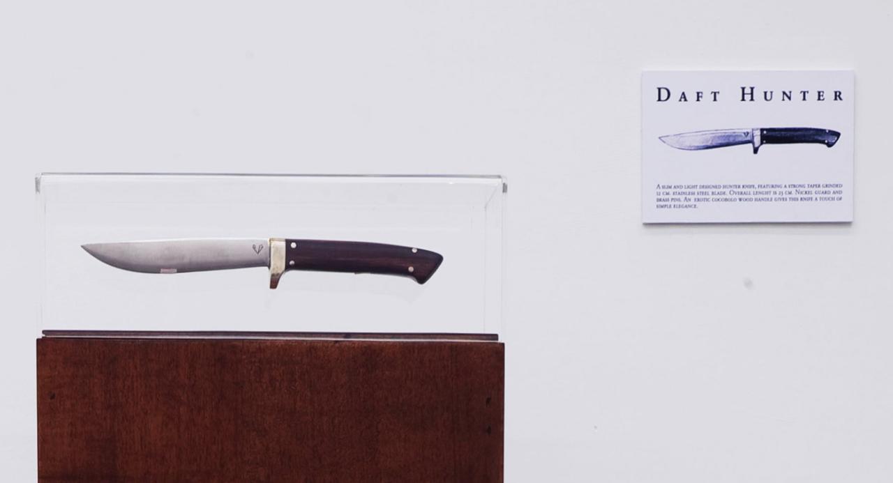 Galleria Fonti PIERO GOLIA – knives